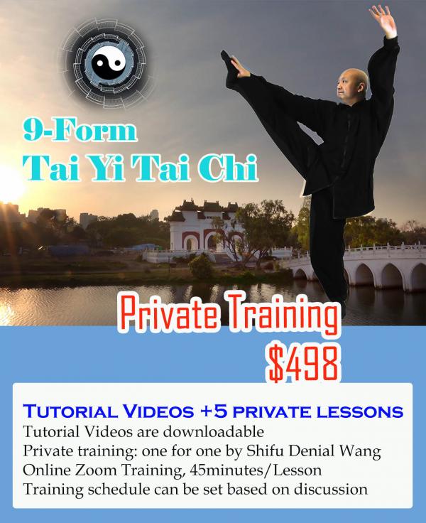 9-Form Tai Yi Tai Chi